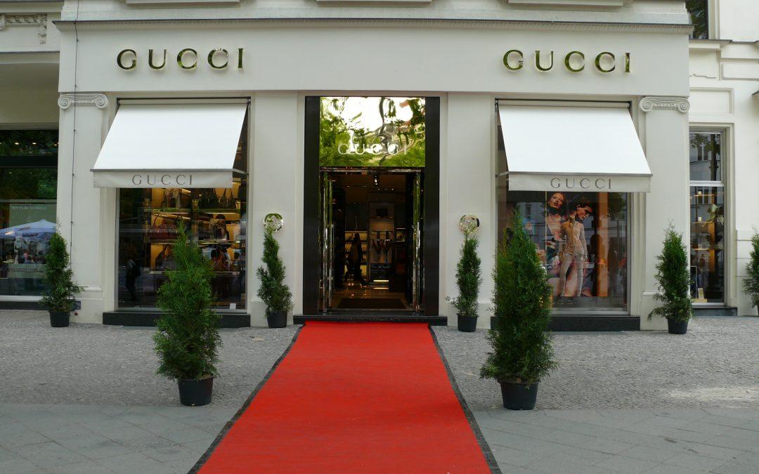 Le décor en mode « Gucci »