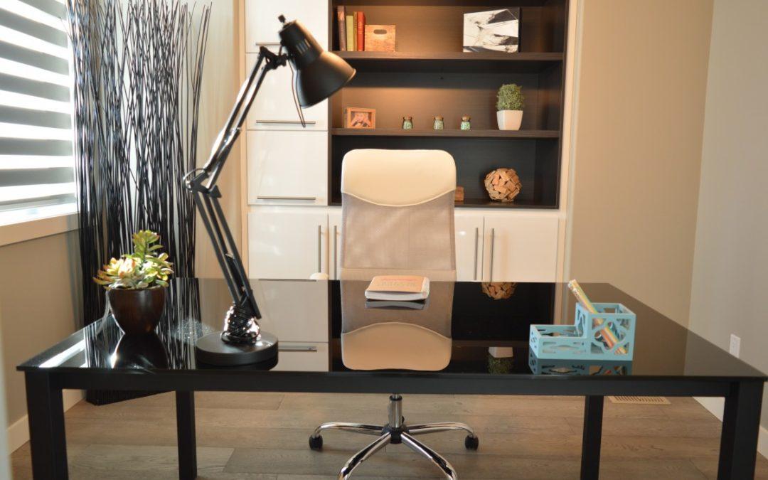 Idées de décoration d'un bureau à domicile